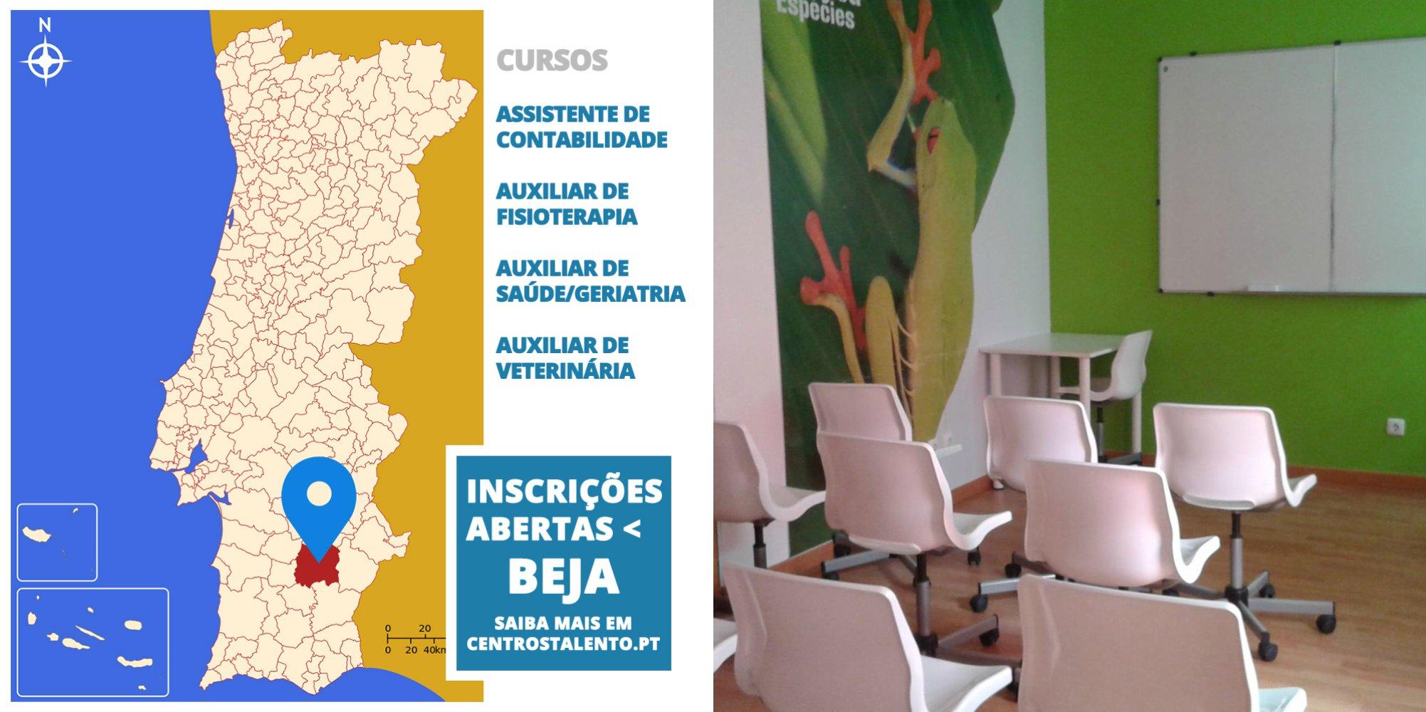 Inscrições abertas em Beja