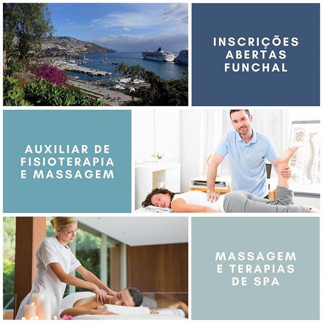 Funchal - Auxiliar de Fisioterapia e Massagem e Terapias de Spa