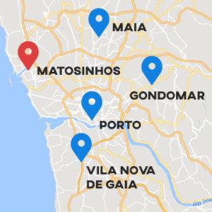 Novo centro em Matosinhos